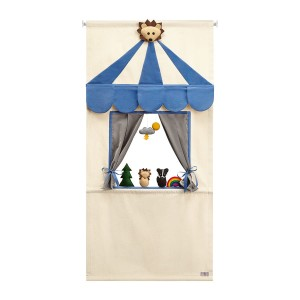 MAXI FOREST FRIENDS DOORWAY PUPPET THEATER SET